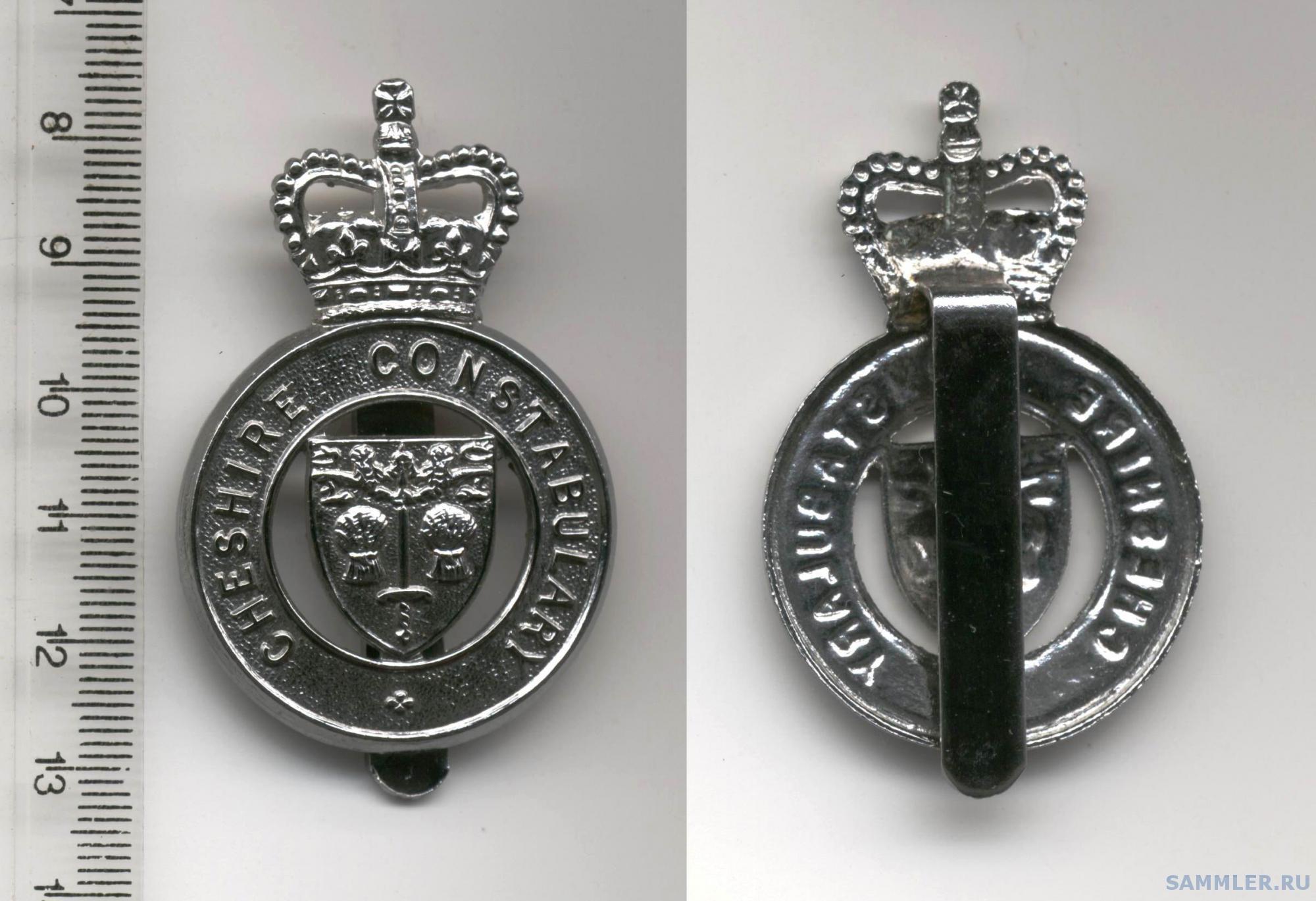 Cheshire Constabulary cap badge EII.jpg