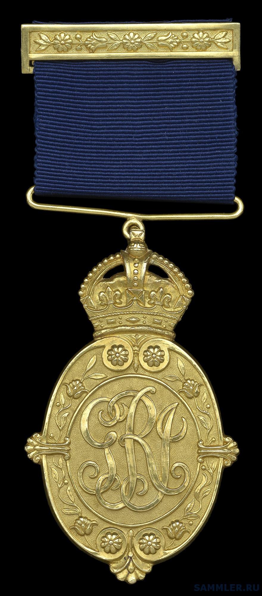 Kaisar-I-Hind, G.V.R., 1st class, 1st type, gold.jpg