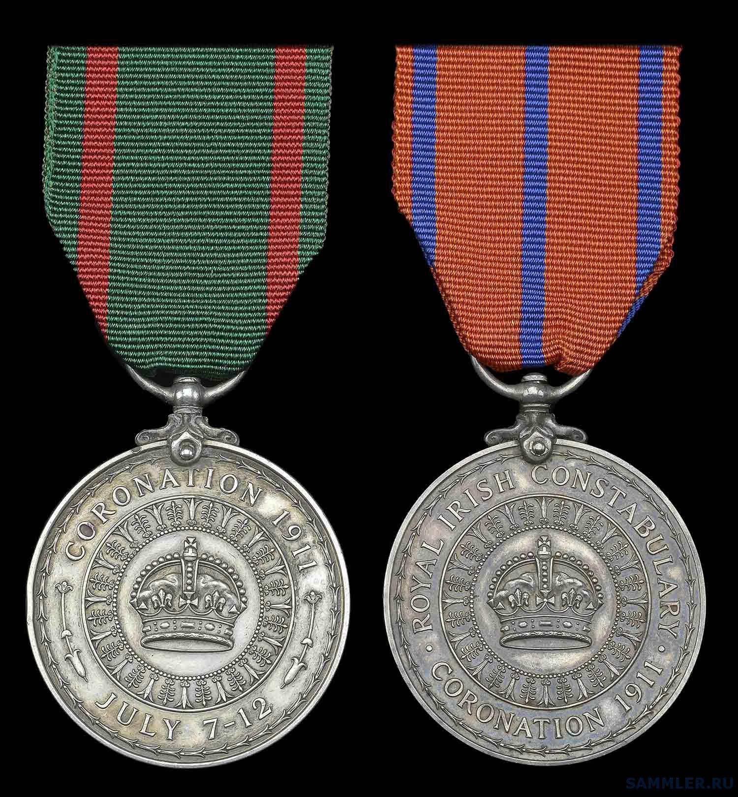 Coronation 1911, Royal Irish Constabulary; Visit to Ireland 1911 а.jpg