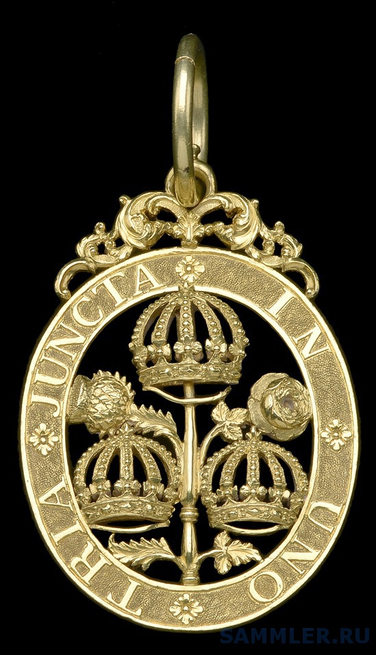 Most Honourable Order of the Bath, G.C.B. (Civil) Knight Grand Cross, 22 carat gold,London 1831,  'JJE' for John James Eddington.jpg