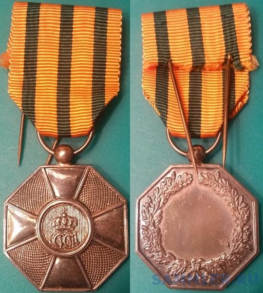 Орден Дубовой короны 07 Серебряная медаль.jpg