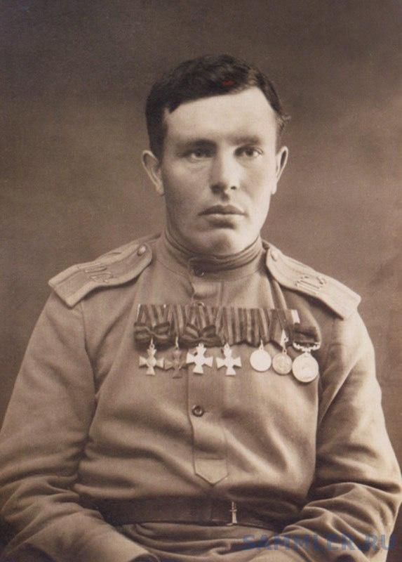 Подпрапорщик 10-го Сибирского стрелкового полка Федотов.jpg