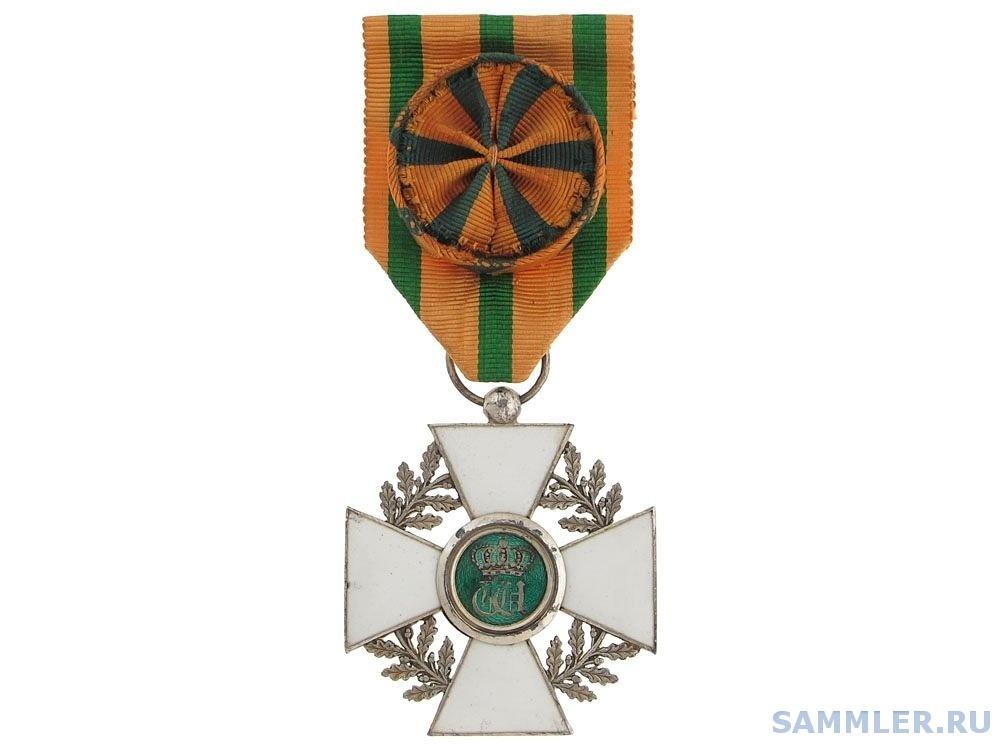 Люксембург_Орден Дубовой Короны_офицер_с дубовыми листьями_серебро.jpg