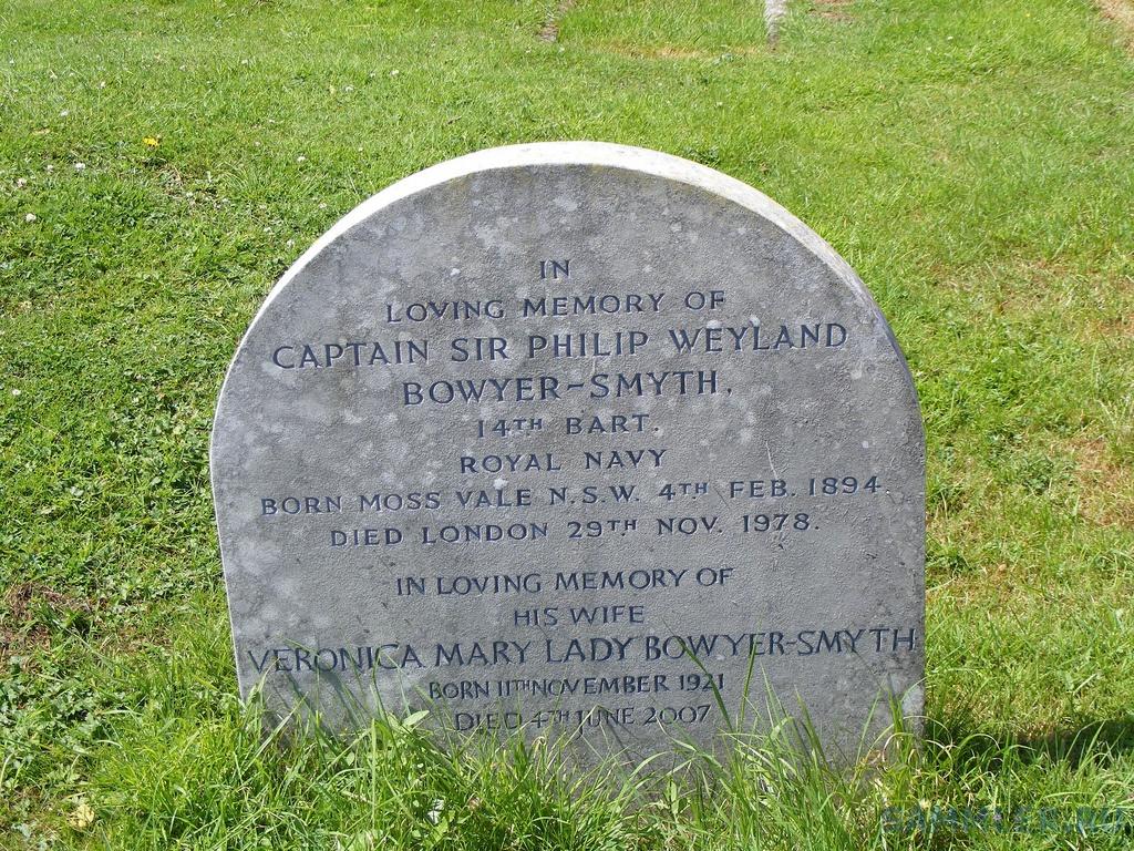 Captain Sir Philip Weyland Bowyer-Smith, Theydon Mount,Essex.jpg