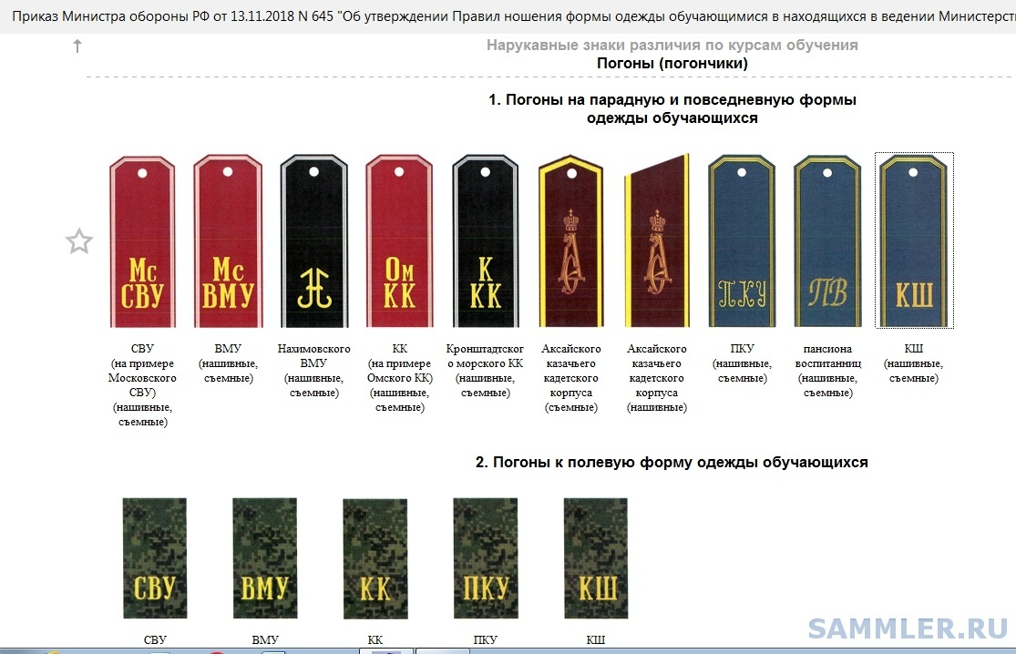 Погоны СВУ и КК - 2018.jpg
