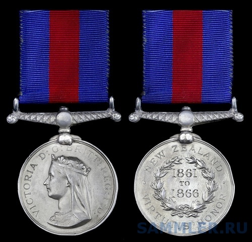 he New Zealand Medal awarded to General Sir C. M. Clarke.jpg