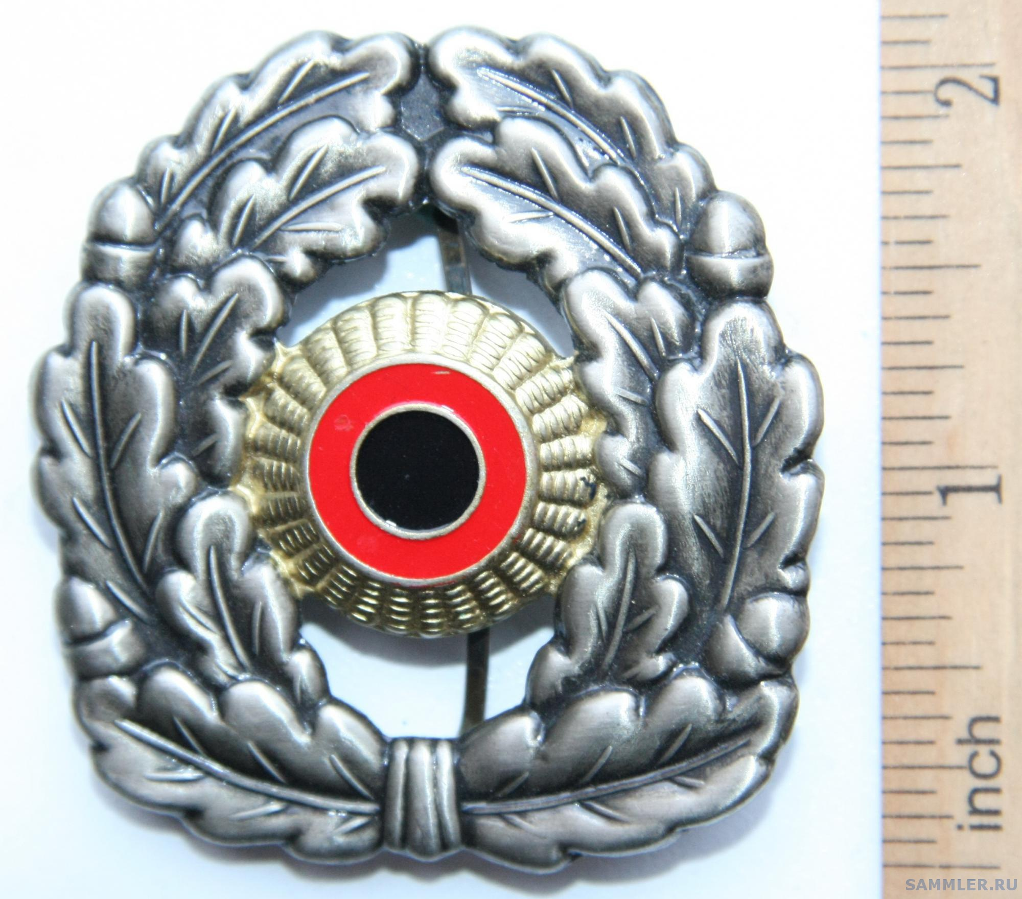 German Bundeswehr Beret Cap Badge_001.JPG