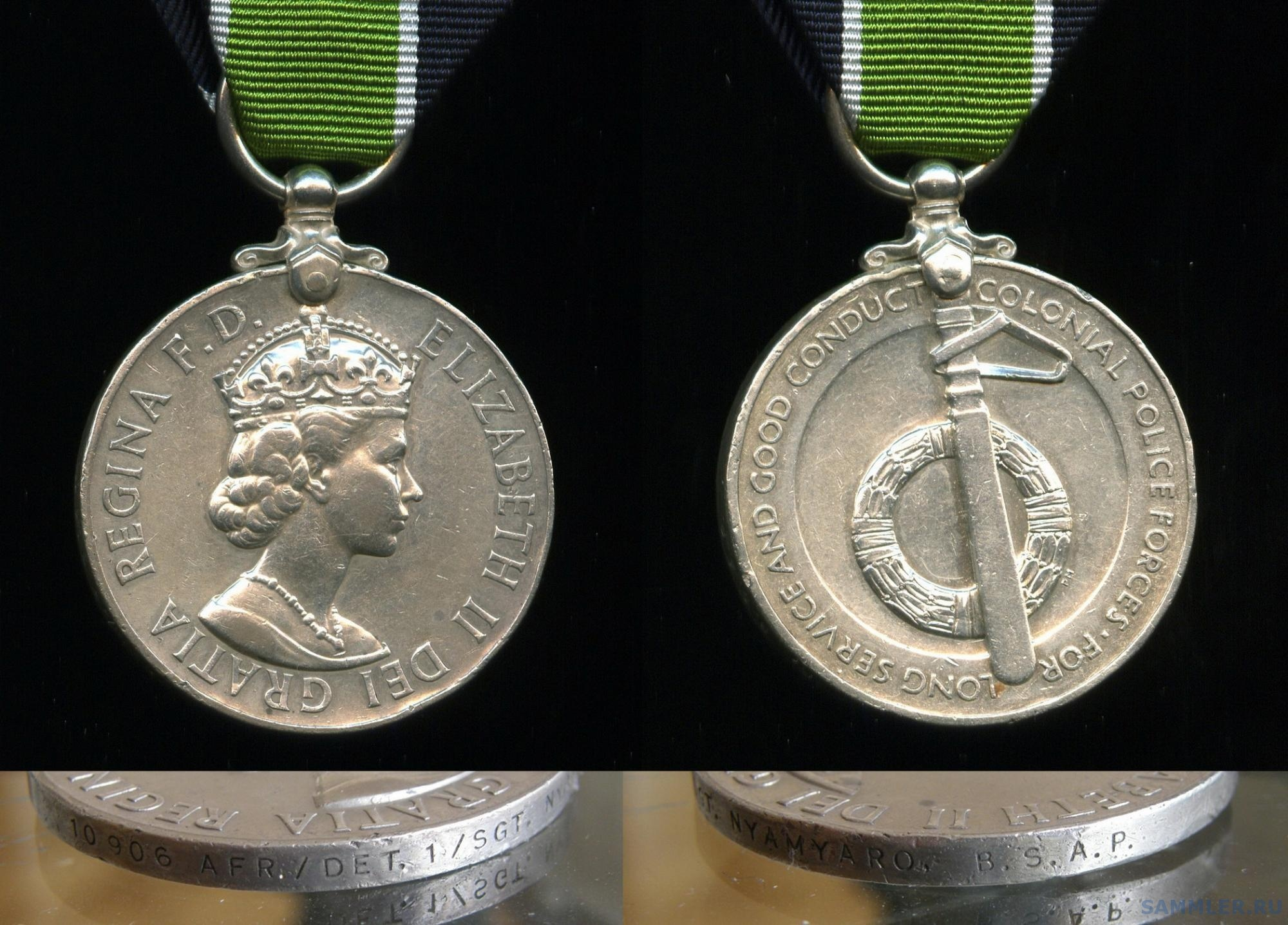 Colonial Police LS Medal to 10906 AFR.DET.1. SGT.NYAMYARO.B.S.A.P. (4).jpg
