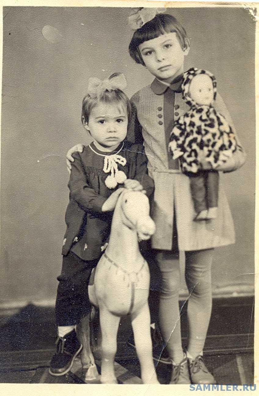 Старое фото с детьми