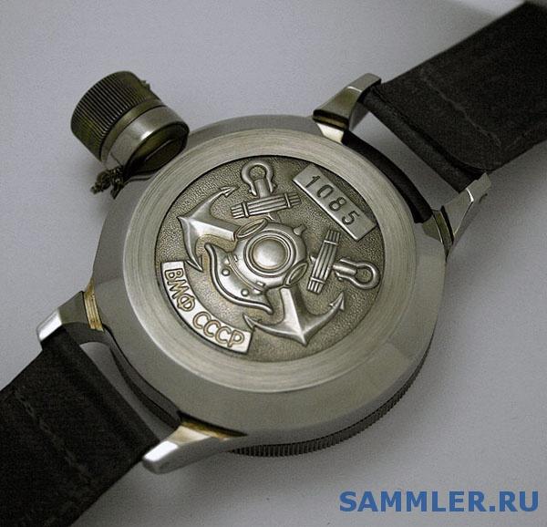Описание: Водолазные часы с боковой секундной стрелкой в комплекте с крепким. Артикул: H4310